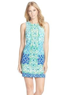 Lilly Pulitzer® 'Perla' Print Scuba Knit Shift Dress
