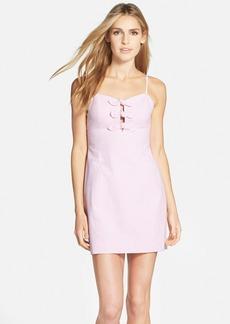 Lilly Pulitzer® 'Petra' Bow Front Seersucker Sheath Dress