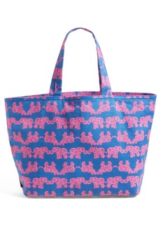 Lilly Pulitzer® Print Canvas Beach Tote