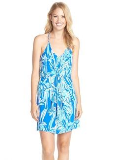 Lilly Pulitzer® 'Rosa' Print Racerback Jersey Dress