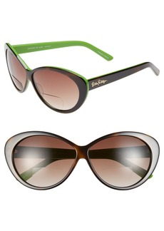 Lilly Pulitzer® 'Seaside' 60mm Reading Sunglasses