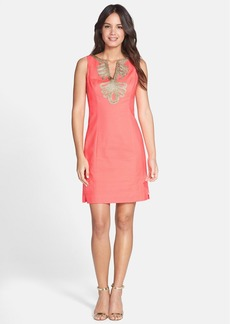 Lilly Pulitzer® Soutache Trim Shift Dress