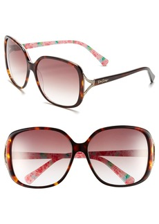 Lilly Pulitzer® 'Westport' 60mm Sunglasses