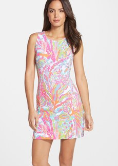 Lilly Pulitzer® 'Whiting' Print Stretch Cotton Sheath Dress