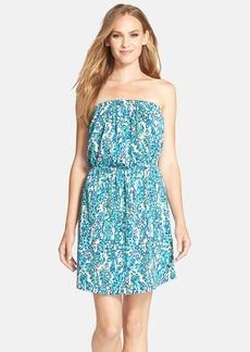 Lilly Pulitzer® 'Windsor' Print Strapless Dress