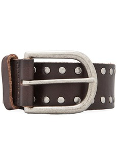 Linea Pelle Nico Studded Jean Belt in Brown