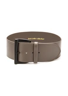 Linea Pelle Wide Waist Shaped Buckle Belt