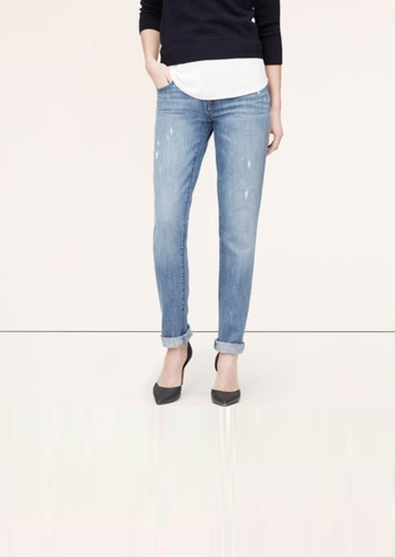 Boyfriend Jeans In Surface Blue Wash Shop It To Me All