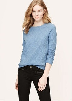 Braided Sweatshirt