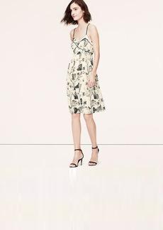 Butterfly Print Racerback Cami Dress