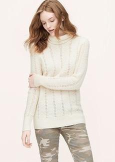 Chevron Turtleneck Sweater