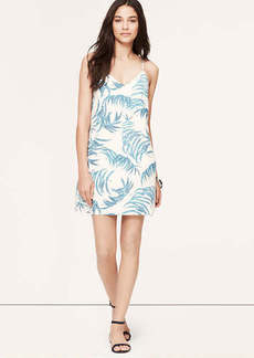 Fern Print Racerback Cami Dress