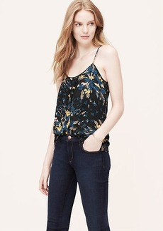 Floral Swingy Pleat Cami
