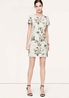 Floral V-Back Dress