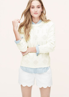 Geo Mesh Sweater