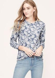 Ivy Jacquard Sweatshirt