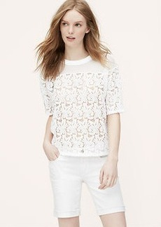 Lace Blossom Tee