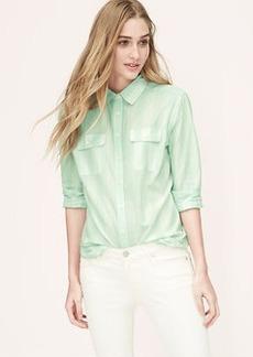 Mixed Stripe Softened Shirt