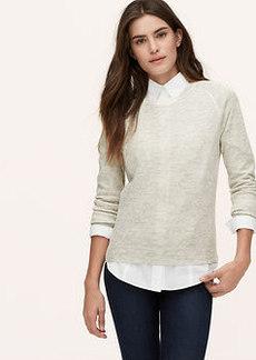 Petite Animal Jacquard Sweater