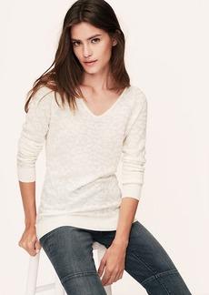 Petite Animal Jacquard Tunic Sweater