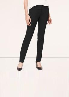 Petite Birdseye Bi-Stretch Fitted Straight Leg Pants in Marisa Fit