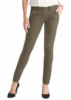 Petite Marisa Super Skinny Cargo Pants in Stretch Cotton Twill