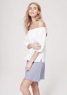 Petite Off-The-Shoulder Tee