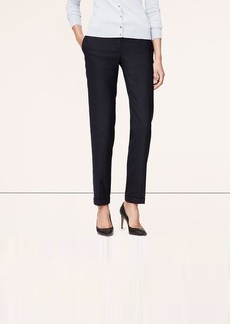 Petite Pindot Cuffed Ankle Pants in Marisa Fit