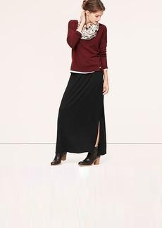 Petite Pocket Maxi Skirt