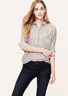 Petite Rosebud Softened Shirt