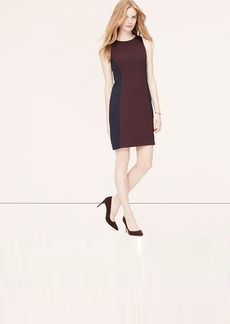 Petite Seamed Sheath Dress