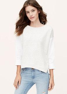 Petite Softened Sweatshirt