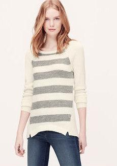 Petite Stripeblock Sweater Tunic