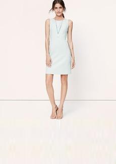Petite Textured Cutout Back Dress