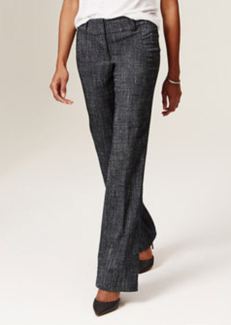Loft Pique Tweed Trousers In Julie Fit With 31 Quot Inseam