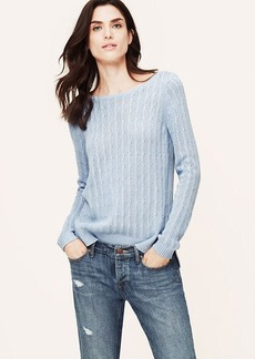 Ribbed Open Stitch Sweater