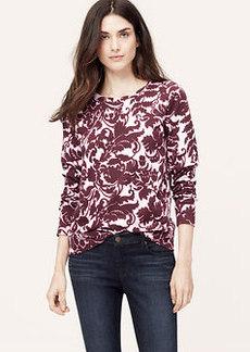 Scroll Bouquet Sweatshirt