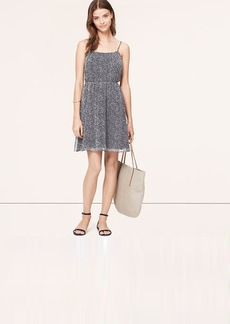 Speckled Chiffon Cami Dress