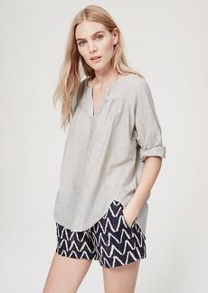 Split Neck Shirt