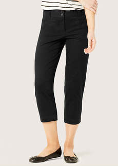 Stretch Cotton Cropped Pants in Julie Fit