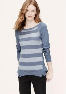 Stripeblock Sweater Tunic
