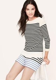 Striped Boatneck Sweater