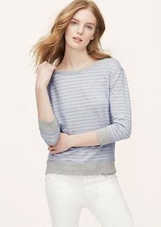 Striped Essential Sweatshirt