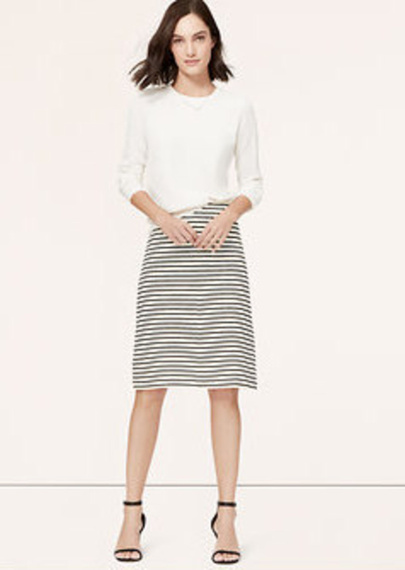 loft striped high waist skirt skirts shop it to me