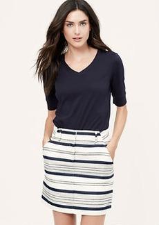Tall Breton Stripe Skirt