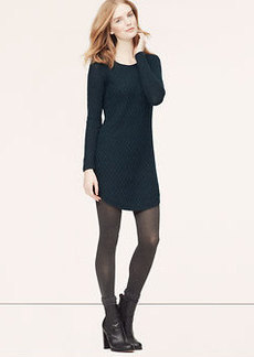 Tall Cable Sweater Dress
