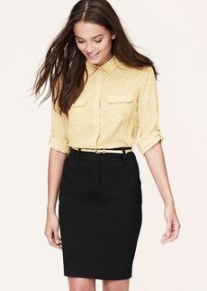 Tall Curvy Fit Ponte Trouser Pencil Skirt