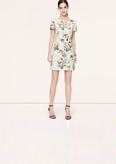 Tall Floral V-Back Dress