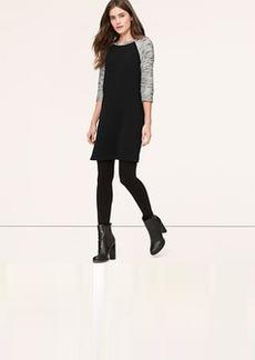 Tall Marled Sleeve Dress