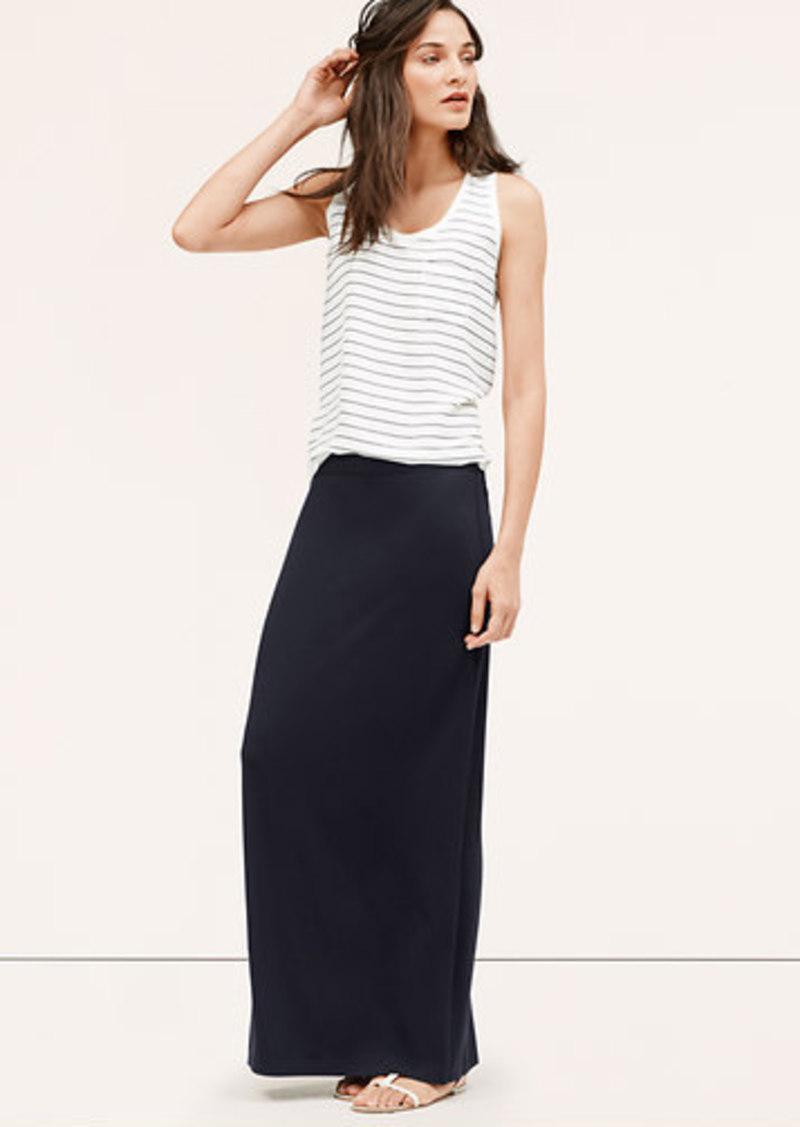 LOFT Tall Maxi Skirt